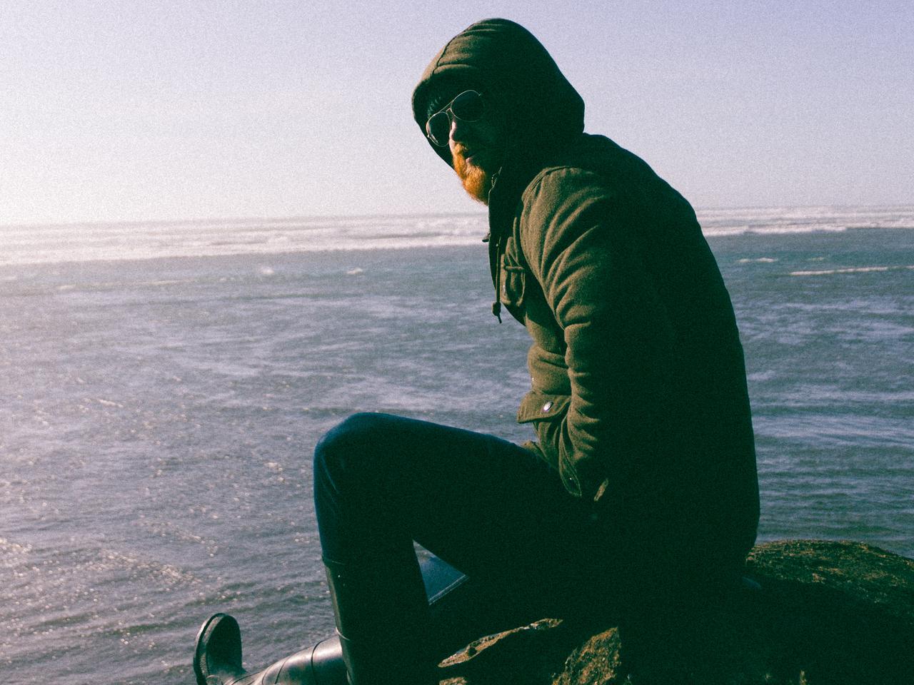 Photo of beachcomber